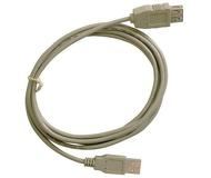 Кабель USB 2.0 Am-Af удлинительный 3м Telecom [TC6936-3M]