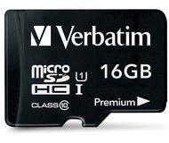 Флеш карта microSDHC 16Gb Verbatim Class10 44082