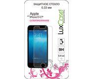 Защитное стекло LuxCase для Apple  iPhone 6/6S/7/8 , суперпрозрачное, 0.33мм