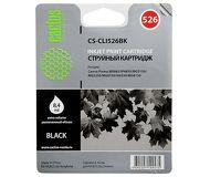 Картридж струйный CACTUS  CS-CLI526BK  черный (CLI-526BK)