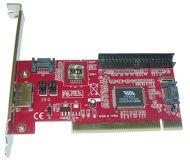 Контроллер PCI VIA6421 1xE-SATA 2xSATA 1xIDE