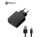 СЗУ Deppa Quick Charge 2.0 USB, черный 11375