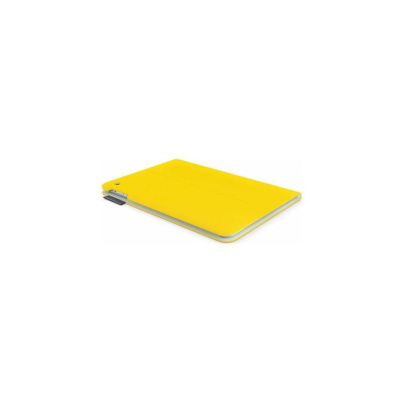 Чехол-книжка Logitech Folio Sunflower для  iPad Air , ткань/полиуретан, желтый  939-000670