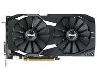 Видеокарта Asus AMD Radeon RX 580 Dual OC (8 ГБ 256 бит) [DUAL-RX580-O8G]
