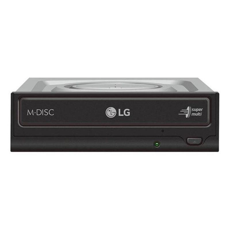 Привод DVD-RW LG [GH24NSD5] SATA, черный