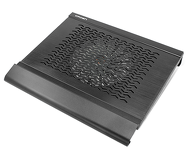 """Подставка охлаждающая 15.6"""" Crown CMLC-1000, вентилятор 160мм, алюминий, 2 USB"""