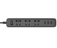 Сетевой фильтр Xiaomi Mi USB Power Strip черный (3 розетки + 3 USB)