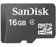 Карта памяти microSDHC 16 ГБ SanDisk [SDSDQM-016G-B35] Class 4