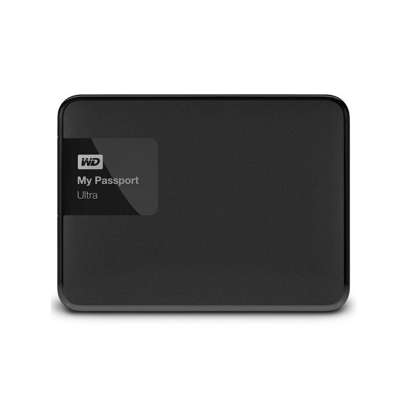 Внешний жесткий диск WD 500Gb WDBBRL5000ABK-EEUE My Passport Ultra черный USB 3.0