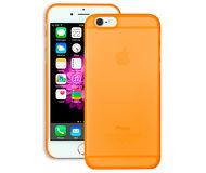 Накладка Ozaki O!coat для  iPhone 6/6S  + пленка на экран, пластик, прозрачно-оранжевый  OC555OG