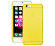 Накладка Ozaki O!coat для  iPhone 6/6S  + пленка на экран, пластик, прозрачно-желтый  OC555YL