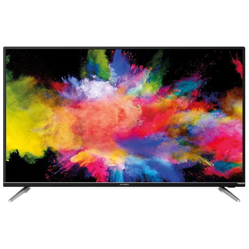 """Телевизор 50"""" Hyundai H-LED50EU7008 черный"""