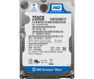 "Жесткий диск 250Gb 2.5"" SATA Western Digital WD2500BEVT б/у"