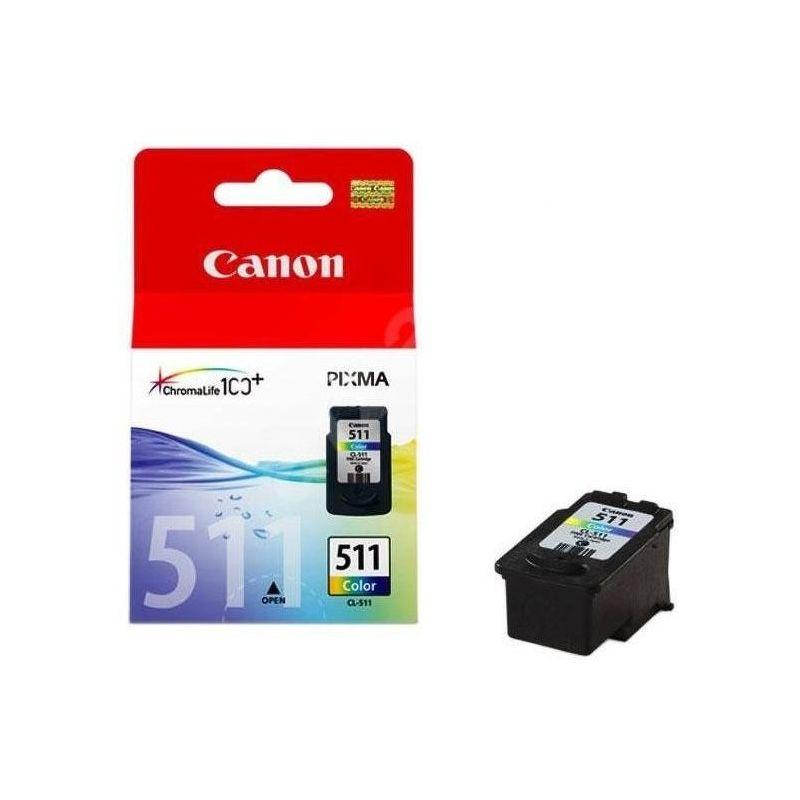 Картридж струйный Canon [CL-511] цветной (2972B007)