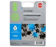 Картридж струйный CACTUS  CS-CLI526C  голубой (CLI-526C)