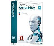 ПО ESET NOD32 Антивирус 3ПК/1год или продление 20 мес.  NOD32-ENA-1220(BOX)-1-1