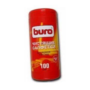 Салфетки Buro BU-Tscreen для мониторов туба 100 шт.