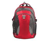 """Рюкзак 15.6"""" Brauberg """"StreetBall 1"""" (224451), ткань, серо-красный"""