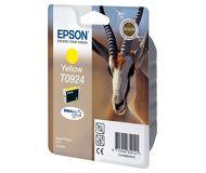 Картридж струйный Epson  T0924  желтый (C13T10844A10)