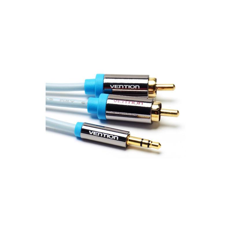 Кабель Vention 3.5JACK(m)-2RCA(m) 3м стерео,аудио [P550AC300-S]