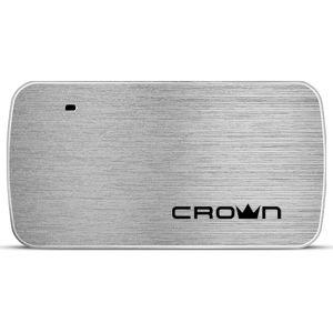 Хаб Crown CMH-B23, 4 порта, USB 2.0, серебристый