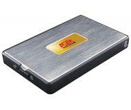"""Внешний корпус AgeStar  SUB2A11  USB 2.0, 2.5"""", алюминий, черно-серебристый"""