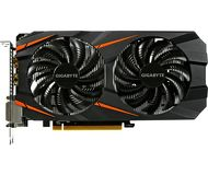 Видеокарта Gigabyte GeForce GTX 1060 WindForce OC (3Gb 192bit)  GV-N1060WF2OC-3GD  б/у