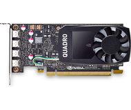 Видеокарта PNY nVidia Quadro P1000 (4 ГБ 128 бит) OEM [VCQP1000BLK-1]