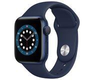 Часы Apple Watch Series 6 44mm синий (алюминий) с синим спорт. ремешком