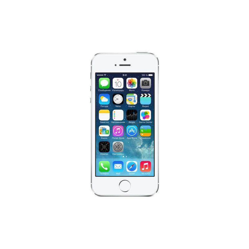 Смартфон Apple iPhone 5S 16 Гб серебристый (РСТ)