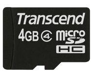 Флеш карта microSDHC 4Gb Transcend class 4 TS4GUSDHC4 SD 2.0