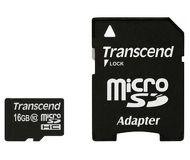 Флеш карта microSDHC 16Gb Transcend Class 10 TS16GUSDHC10