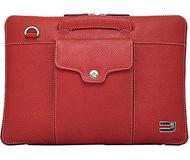 """Чехол-портфель Urbano для Apple  MacBook Air/Pro , 13"""", кожа, красный  UZRB13-04/R"""