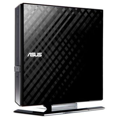 Привод DVD-RW Asus USB [SDRW-08D2S-U LITE/BLK/G/AS] черный, внешний