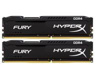 Память DDR4 8Gb 2666MHz PC21300 Kingston HyperX Fury Black  HX426C15FBK2/8  Kit 2x4Gb