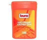 Салфетки Buro BU-Tft влажные для мониторов малая туба 100 шт.