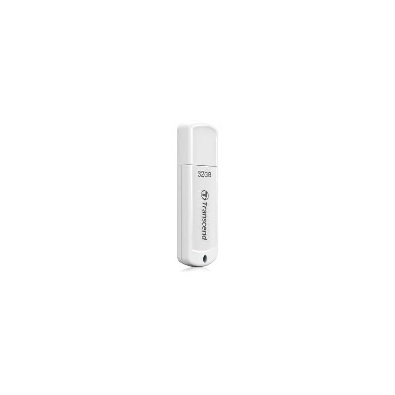 Флешка USB 32 ГБ Transcend JetFlash 370 [TS32GJF370] USB 2.0, белый