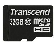 Флеш карта microSDHC 32Gb Transcend Class 10 TS32GUSDC10
