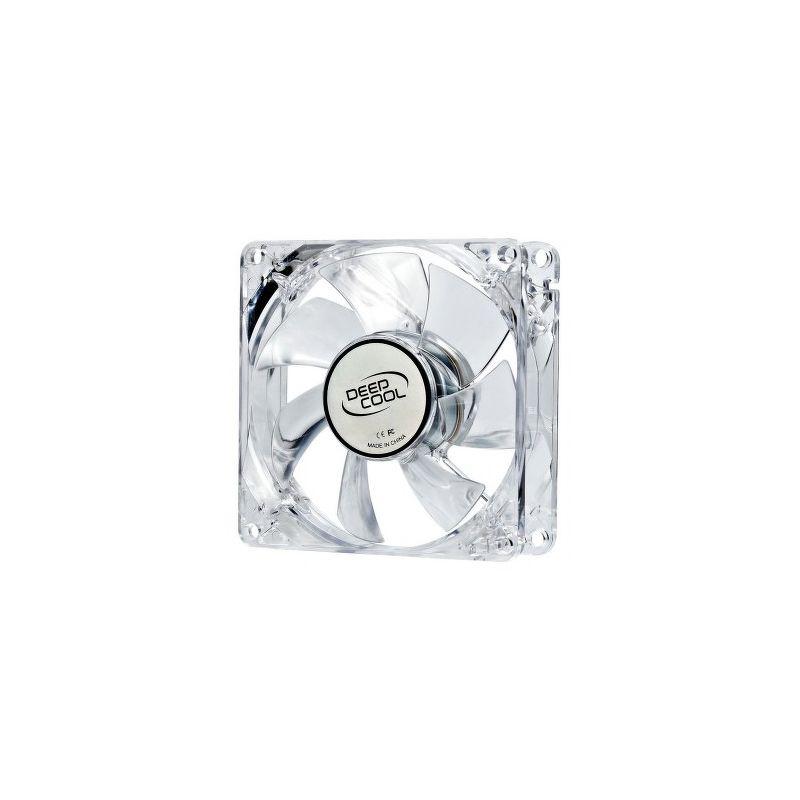Вентилятор DeepCool Xfan 80L/R 80 мм  [DP-FLED-WB80-RD] красный