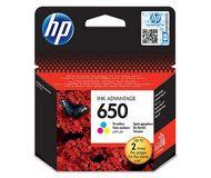 Картридж струйный HP 650 цветной (CZ102AE)