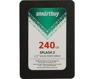 Накопитель SSD 240Gb Smartbuy Splash 2  SB240GB-SPLH2-25SAT3  (TLC)