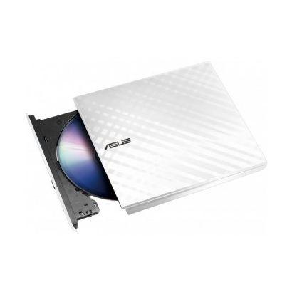 Привод DVD-RW Asus USB [SDRW-08D2S-U LITE/WHT/G/AS] белый, внешний