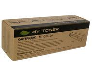 Тонер-картридж MyToner MT-Q2612A для HP LJ 101x/1020/1022/M1005/305x/3015/3020/3030, 2000 стр.