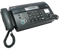 Факс Panasonic KX-FT982RUB (черный) б/у