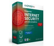 ПО Kaspersky Internet Security 3ПК/1 год Базовая лицензия (KL1941RBCFS)