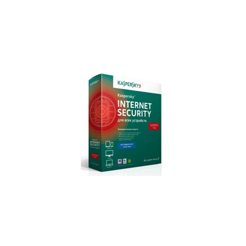 ПО Kaspersky Internet Security 3ПК/1 Год Базовая лицензия [KL1941RBCFS]