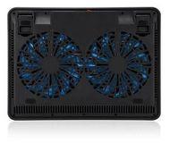 """Подставка охлаждающая 17"""" Crown CMLC-1101, 2 вентилятора 110мм"""