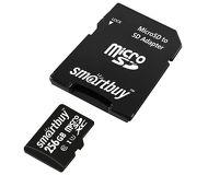 Карта памяти microSDXC 256 ГБ Smartbuy [SB256GBSDCL10U3-01] Class 10 UHS-1 c адаптером