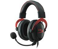 Наушники с микрофоном HyperX Cloud II KHX-HSCP-RD Красный