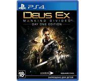 Игра для PS4: Deus Ex Mankind Divided. Day One Edition (рус.версия)